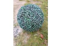ARTIFICIAL FAUX BOXWOOD TOPIARY BALL. 40CM. BRAND NEW. 2 AVAILABLE