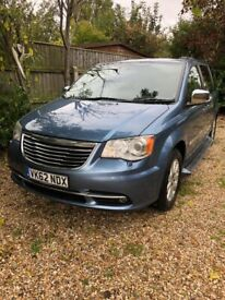 image for 2012-62 CHRYSLER GRAND VOYAGER LTD 2.8 CRD TURBO DIESEL AUTOMATIC  STOW & GO