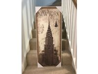 Canvas Picture of New York