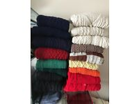 18 Hand knitted jumpers/cardigans