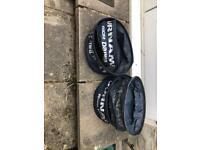 Free fishing groundbait bowls