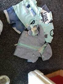 Brand new never worn from first size to upto 3m
