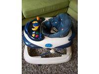 Chicco baby walker with removable activity centre