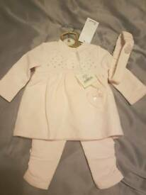 Brand new designer baby girl outfit 3 months