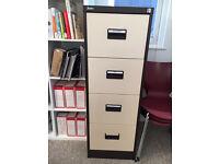 4 drawer filing cabinet, £15 or best offer