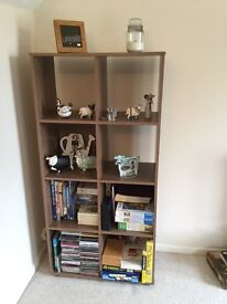 Bookcase: 8 square cube unit