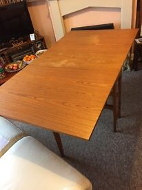 Foldaway dining room table/shabby chic project