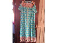 Ladies - Dubai Long Kaftan/Cover Up/Abaya - Size M L and XL