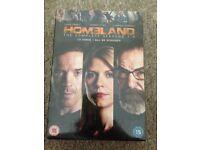 Homeland series 1-3 DVD box set