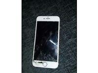 iphone 7 gold 128gb broken screen