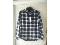 Burton Black/Blue/White Shirt