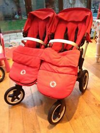 Bugaboo Donkey Twin for sale (with extras)