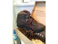 Men's Timberland brown leather boots