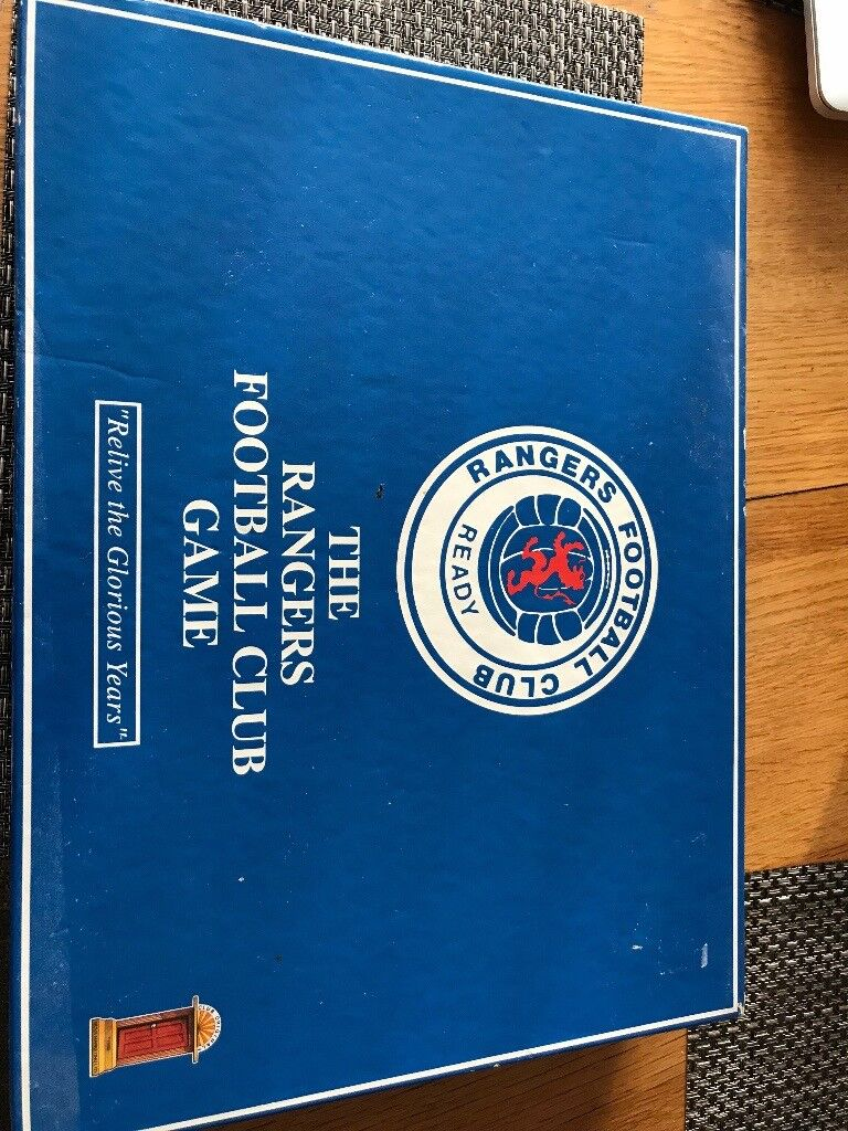Special edition Rangers FC board game