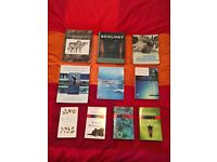 Various biology textbooks (AVAILABLE INDIVIDUALLY OR AS PACKAGE)