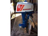 Suzuki DT16 Outboard Motor
