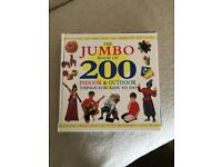 200 ideas of things to do with kids book