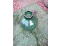 large green carboy.