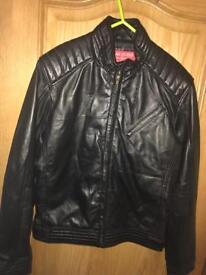 New genuine Cafe Racer Leather Jacket (Meduim)