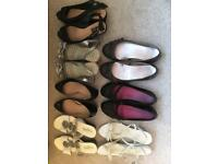 Various ladies shoes size 6/39