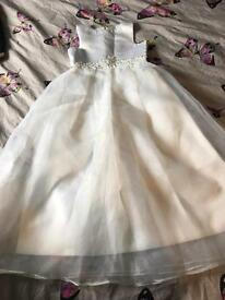 Child's bridesmaid/christening dress