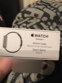 Space Grey 42mm Series one Apple Watch (I watch)