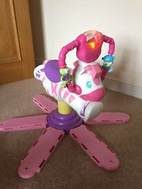 Fisher Price Bounce 'n' Spin Horse (pink)