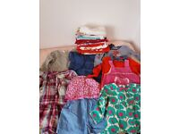 Girls bundle of clothes 2-3-4 years