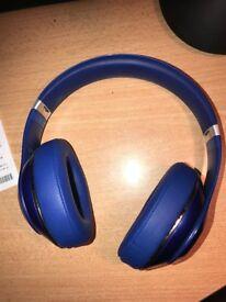 GENUINE BEATS STUDIO 2 HEADPHONES IN BLUE (Wired)