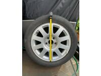 Audi A4 alloy wheel 16 inch and tyre