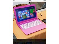 Pink hp laptop 13.1 inch