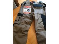 "New Scruffs pro trousers in brown W30"" x L33"""