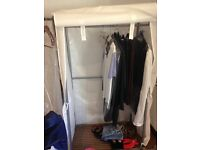 Clothes Rail with Cover x 2 - like new