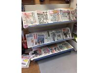 Newspaper display stand