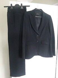 Jaeger Blue Trouser Suit