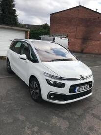 Citroen c4 grand Picasso feel blue HDI s/s 2017 reg 5 door MPV fmily 7 seaters car good condition