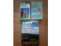 BOOK BUNDLE - Top 10 Rome, 1001 Great Family Walks, East End Backpassages