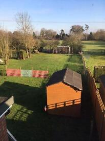 3 bed house in rural Suffolk border of Norfolk