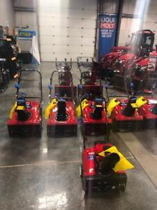 Toro Snowblowers Single Stage and 2 Stage