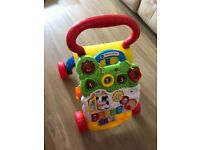 VTech First Steps Baby Walker. In excellent condition