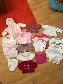 0-3m girls bundle