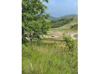 WANTED A Small plot of land to rent or buy west wales