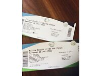 2x Kaiser Chief tickets for Swalec Stadium Sat 16 July