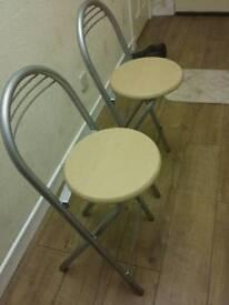 Two kitchen stool