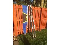 Blizzard Firebird Skis with Poles and Bag