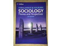 Sociology Themes and Perspectives. Haralambos and Holborn. 8th Edition.
