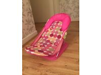 Baby Bath Chair / Bath Seat Summer Pink