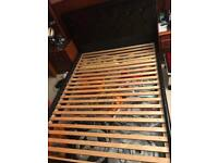 Double bed with replacement bed slats quick sale!!!