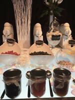 Soft serve ice cream bar/ Candy bar/ Sweet table/ Cake pops/