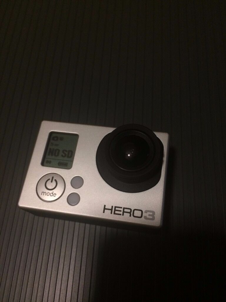 GoPro Hero 3 White and Bundle of accessories